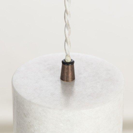 Marble plate pendant white by nellcote sonder living treniq 1 1526979781866
