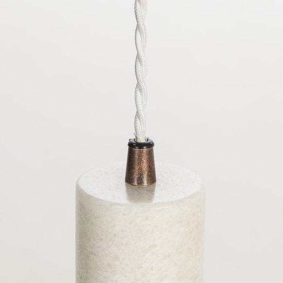 Marble tube pendant white by nellcote sonder living treniq 1 1526979961576