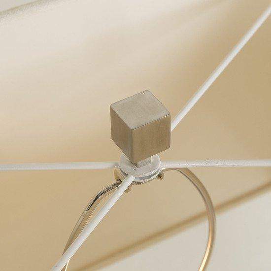 Stack table lamp nickel white shade by nellcote sonder living treniq 1 1526980365189
