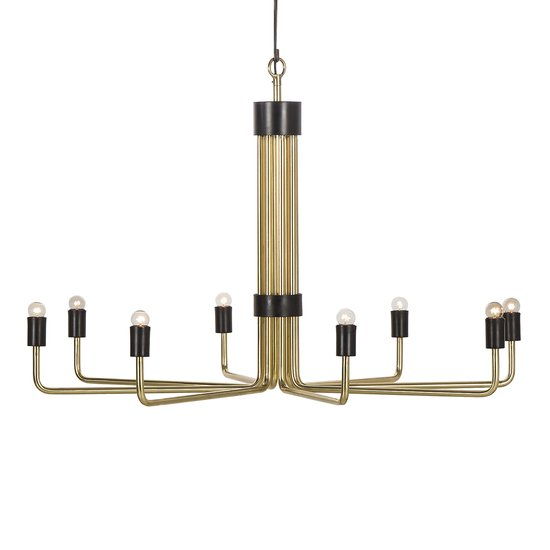Le marais chandelier 8 light brass by nellcote sonder living treniq 1 1526981267235