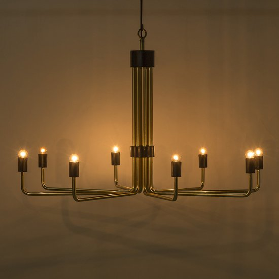 Le marais chandelier 8 light brass by nellcote sonder living treniq 1 1526981298183