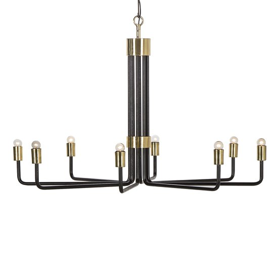 Le marais chandelier 8 light black by nellcote sonder living treniq 1 1526981332631