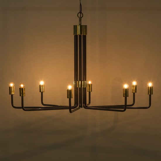 Le marais chandelier 8 light black by nellcote sonder living treniq 1 1526981332649