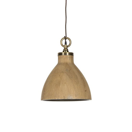 Natural oak pendant medium by nellcote sonder living treniq 1 1526981652987