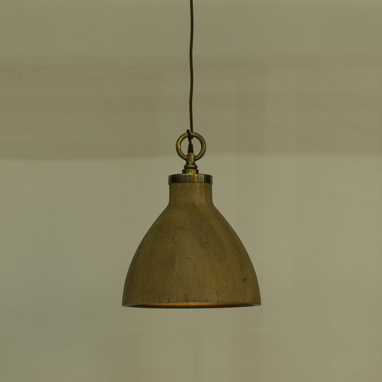 Natural oak pendant medium by nellcote sonder living treniq 1 1526981652998
