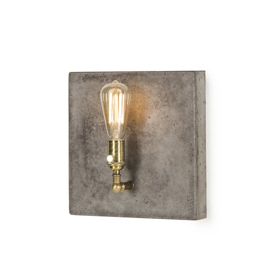 Factory sconce single aged brass by nellcote sonder living treniq 1 1526981701048