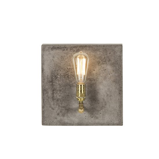 Factory sconce single aged brass by nellcote sonder living treniq 1 1526981706124