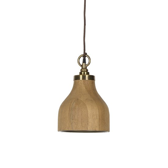Natural oak pendant small by nellcote sonder living treniq 1 1526984513528