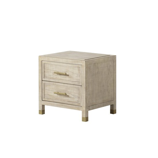 Raffles nightstand 2 drawer small  sonder living treniq 1 1526984740105