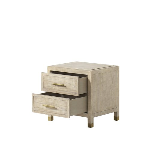Raffles nightstand 2 drawer small  sonder living treniq 1 1526984752429
