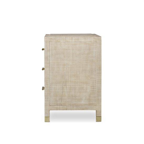 Raffles nightstand 3 drawer  sonder living treniq 1 1526985426922