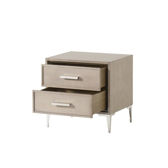 Chloe nightstand 2 drawer small  sonder living treniq 1 1526985704811