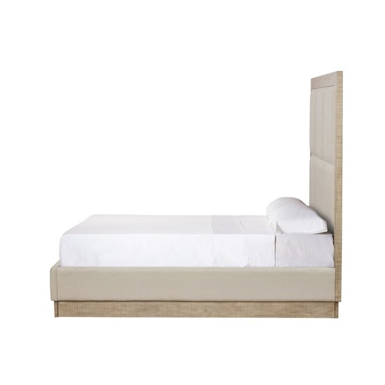 Raffles king bed 6 panels platform norman ivory  sonder living treniq 1 1526987063477