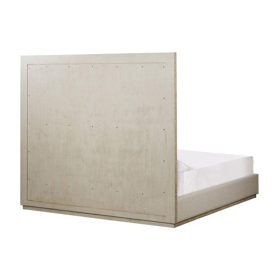 Raffles eu queen bed 6 panels platform norman ivory  sonder living treniq 1 1526987173823