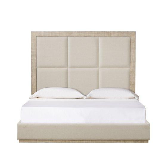 Raffles eu queen bed 6 panels platform norman ivory  sonder living treniq 1 1526987173899