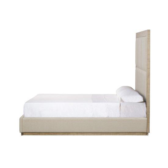 Raffles eu queen bed 6 panels platform norman ivory  sonder living treniq 1 1526987182814
