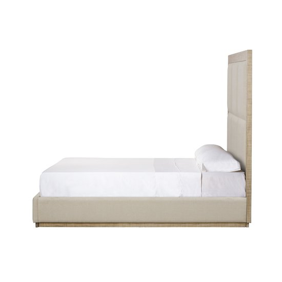 Raffles queen bed 6 panels norman ivory  sonder living treniq 1 1526987376778