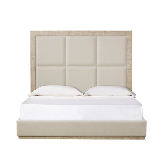 Raffles queen bed 6 panels norman ivory  sonder living treniq 1 1526987376767
