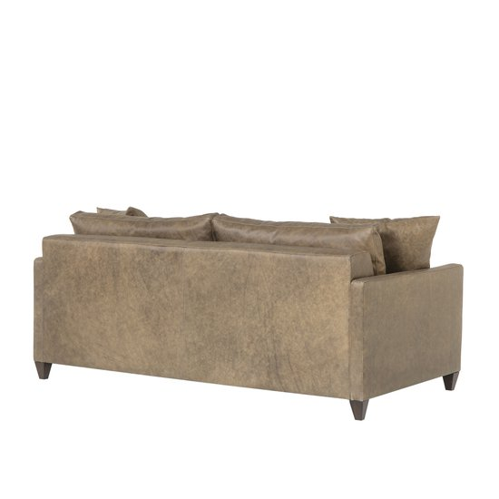 Ian sofa wooden tapered leg fonzo bistre leather  sonder living treniq 1 1526989244442