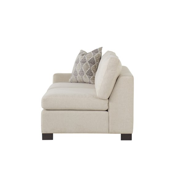 Ian laf loveseat clipped arm block leg marek spritzer fabric  sonder living treniq 1 1526989363844