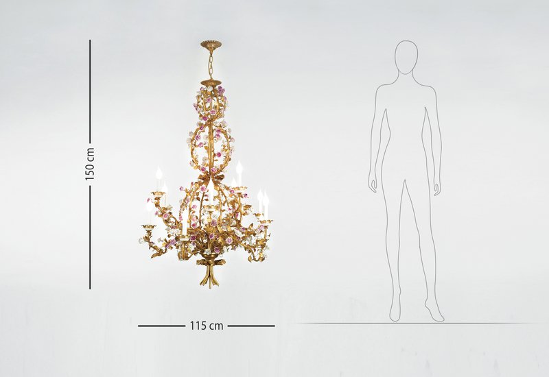 Flores collection chandelier ii giulia mangani treniq 6