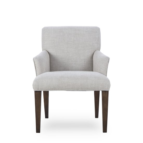 Aaron arm chair textured linen  sonder living treniq 1 1526990108934