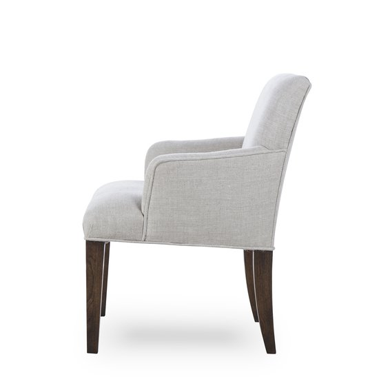 Aaron arm chair textured linen  sonder living treniq 1 1526990108978
