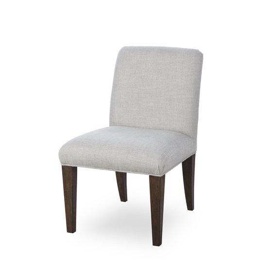 Aaron side chair textured linen  sonder living treniq 1 1526990152720