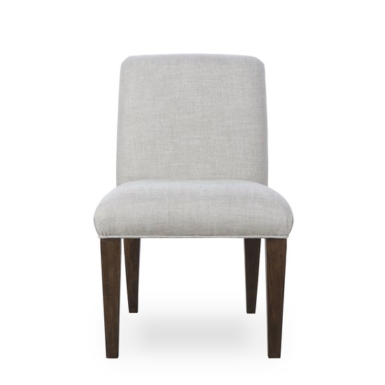 Aaron side chair textured linen  sonder living treniq 1 1526990152725