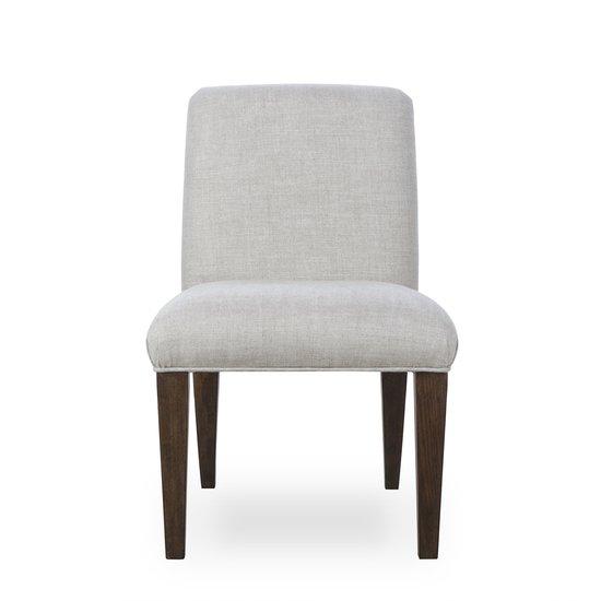 Aaron side chair textured linen  sonder living treniq 1 1526990152740