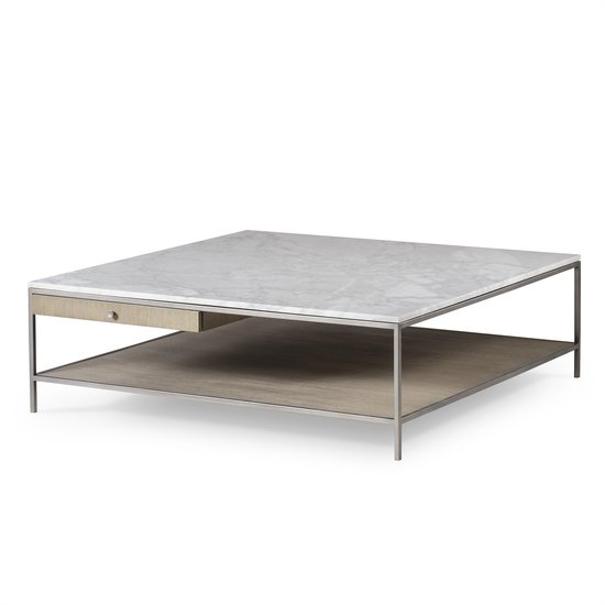 Paxton Coffee Table Square Large Contemporary By Sonder Living