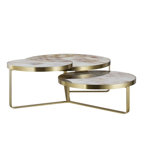 Rex coffee table round  sonder living treniq 1 1526991911131