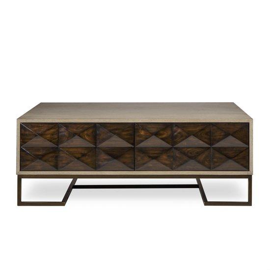 Casey coffee table 2 drawer square  sonder living treniq 1 1526992221939