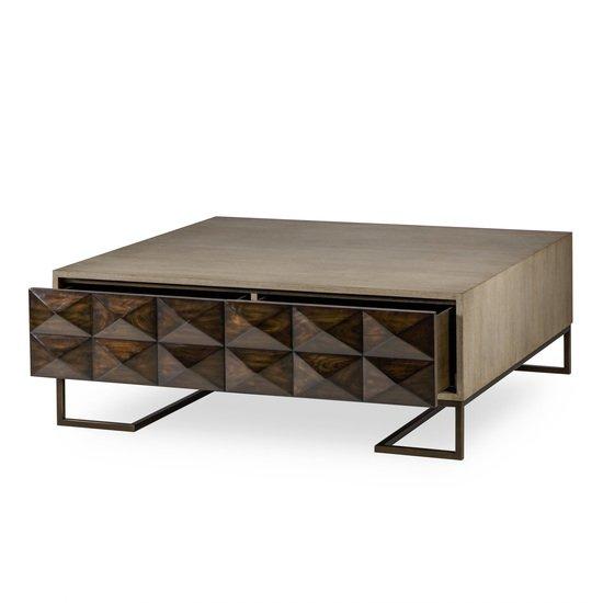 Casey coffee table 2 drawer square  sonder living treniq 1 1526992221954