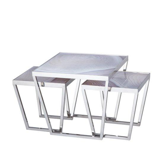 Jaxson bunching coffee table natural agate  sonder living treniq 1 1526992573155