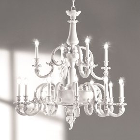White Collection Chandelier II - Giulia Mangani - Treniq