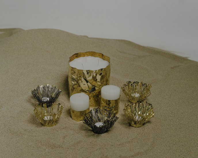 The jwalaa candle holder s (without candle) living with elan treniq 2 1527345434528