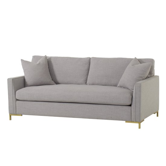 Ian loveseat tailored arm leg b metal gold  sonder living treniq 1 1527669221597