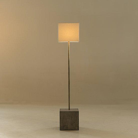 Untitled floor lamp square white shade by nellcote sonder living treniq 1 1527673208568
