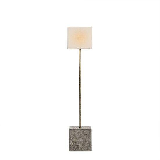 Untitled floor lamp square white shade by nellcote sonder living treniq 1 1527673208572