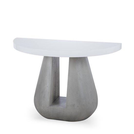 Gray console table  sonder living treniq 1 1527678856135