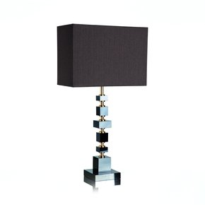 Brick Black Table Lamp - Dettagli Lights - Treniq