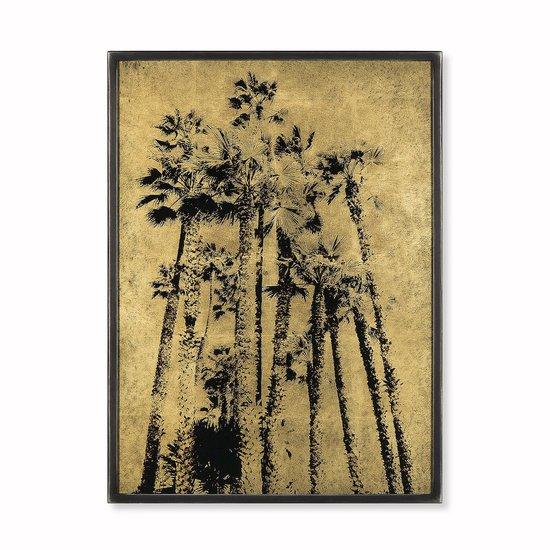 Eglomise santa monica palm trees gold leaf  sonder living treniq 1 1527686221560