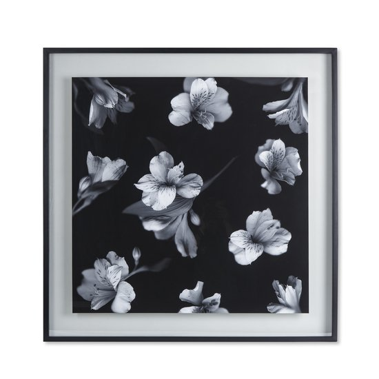 Black   white flowers glass float  sonder living treniq 1 1527739830929