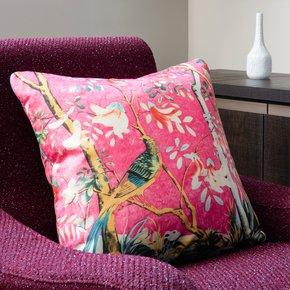 Cerise-Forest_Vintage-Cushions_Treniq_0