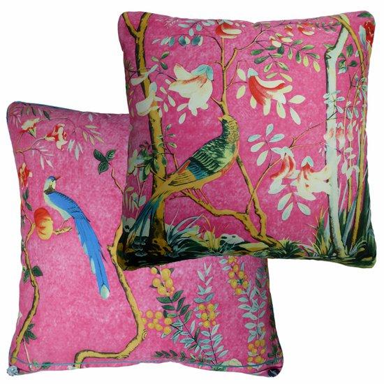 Cerise forest vintage cushions treniq 2 1528277620751