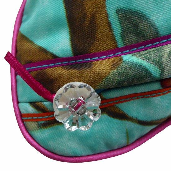 Kingfisher blue vintage cushions treniq 1 1528322697852