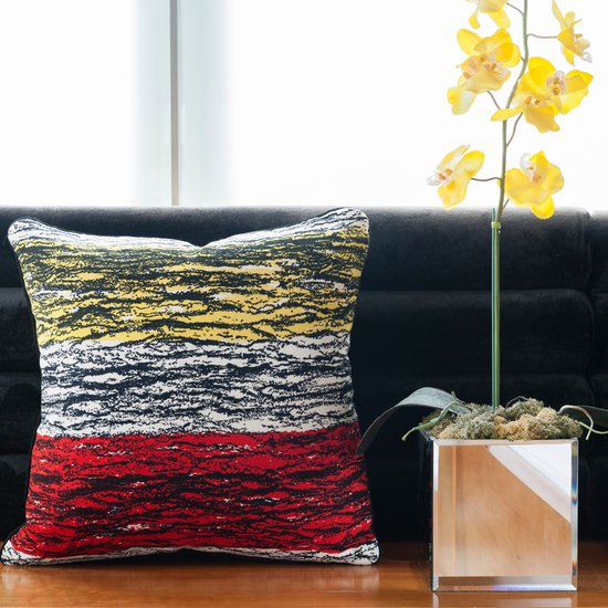 Mid century stripes  vintage cushions treniq 1 1528430327606