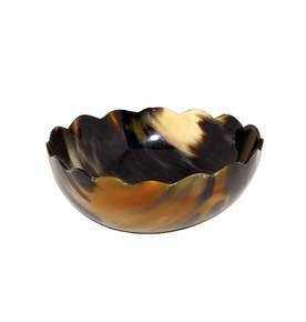 Lulu Medium Bowl in Horn