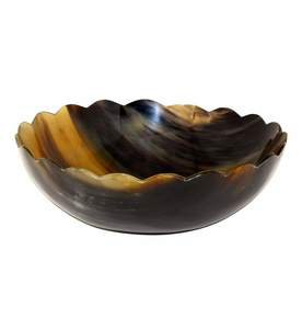 Lulu Large Bowl in Horn
